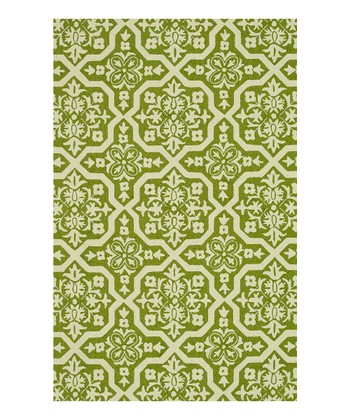 Peridot & Ivory Venice Beach Indoor/Outdoor Rug