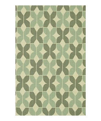 Ivory & Smoke Venice Beach Indoor/Outdoor Rug