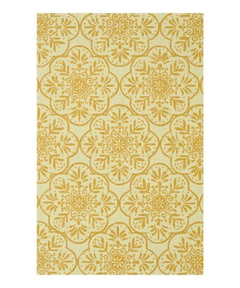 Ivory & Buttercup Venice Beach Indoor/Outdoor Rug
