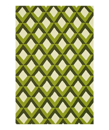 Green Trellis Venice Beach Indoor/Outdoor Rug