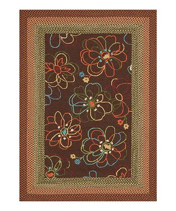 Brown Zamora Indoor/Outdoor Rug