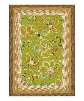 Lime Zamora Indoor/Outdoor Rug