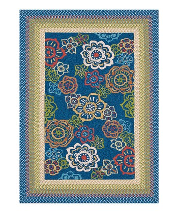 Blue Zamora Indoor/Outdoor Rug