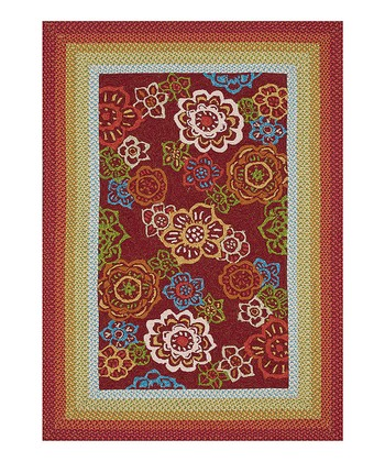 Red Zamora Indoor/Outdoor Rug