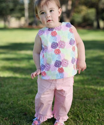 Light Pink Ruffle Pants - Infant