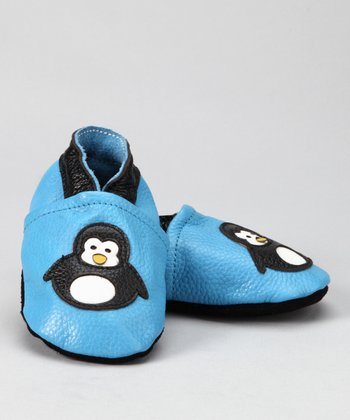Blue Penguin Booties