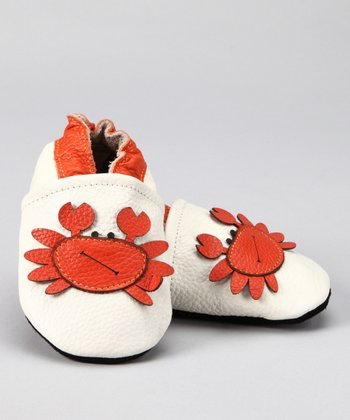 White Mr. Crab Booties