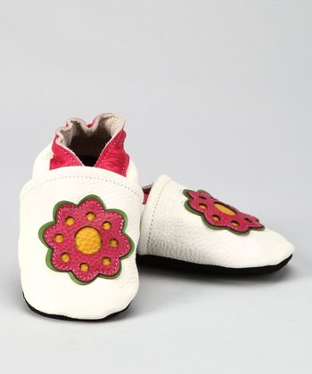 Off-White Flower Booties