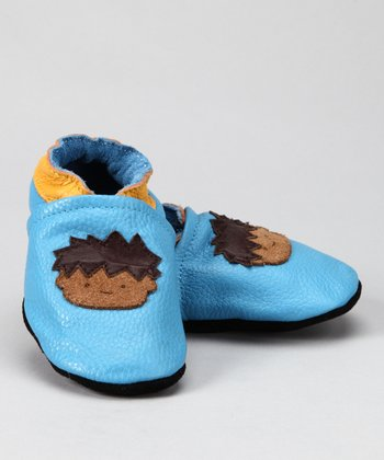 Light Blue Boy Booties