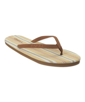 Yellow Rambler Flip-Flop