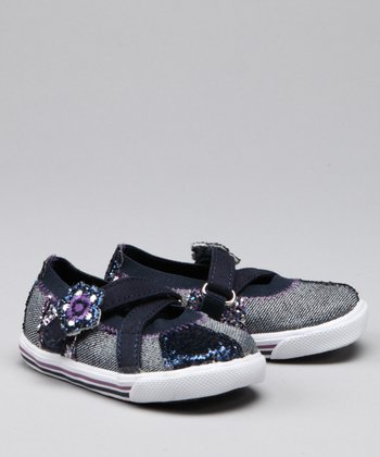 Denim Sparkle So Dazzled Flat - Kids