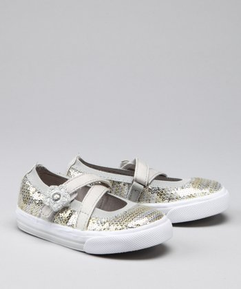 Silver & Gold So Dazzled Flat - Kids