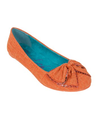 Orange Paloma Flat
