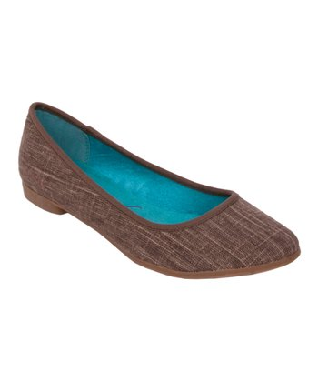Brown Cozumel Queen Flat