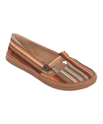 Brown Stripe Rebel Flat