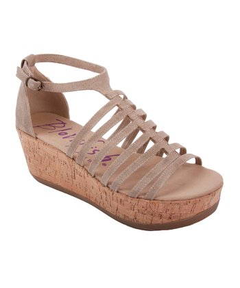 Natural Greece Platform Sandal