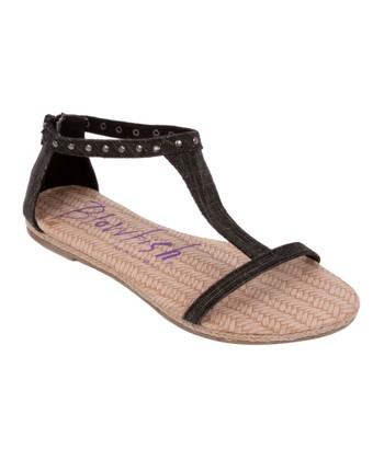 Black Dole Sandal