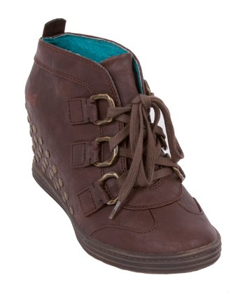 Whiskey Top Rock Wedge Bootie