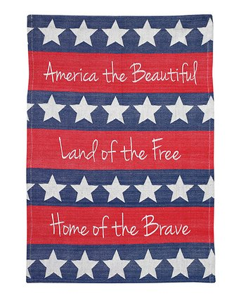 'America the Beautiful' Jacquard Dish Towel
