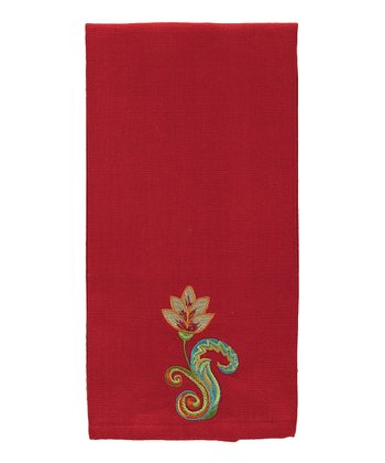 Vermillion Guest Towel - Set of Two