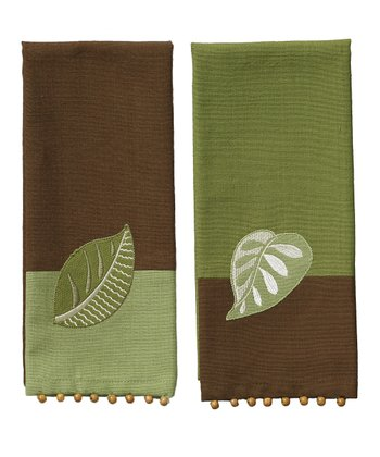 Botanical Guest Towel Set