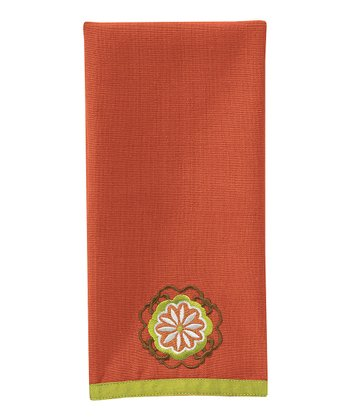 Cinnamon Medallion Guest Towel