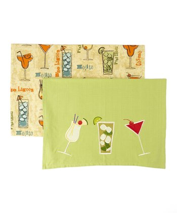Green Fiesta Dishtowel Set
