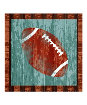 Football Gallery-Wrapped Giclée Canvas