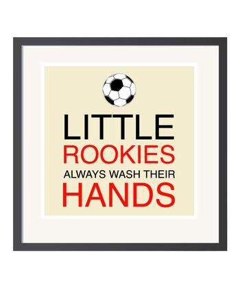 'Little Rookies' Art Print