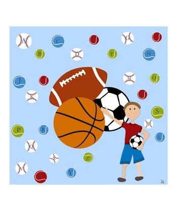 Sports Alphabet Canvas