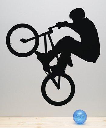 BMX Rider Wall Decal