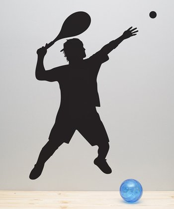 Tennis Player Wall Decal