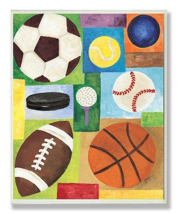 Sport Balls Wall Art
