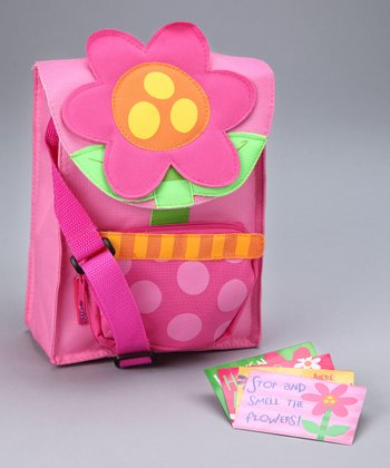 Flower Snack Sac & Note Cards