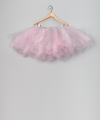 Pink & Gray Fairy Tutu - Infant, Toddler & Girls
