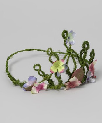 Green Flower Tiara