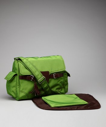 Grass Kelly Diaper Messenger Bag