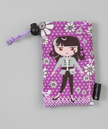 Purple Phone Pouch