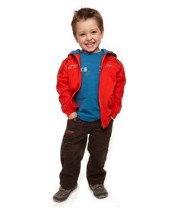 Brown Road Works Corduroy Pants - Infant & Toddler