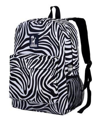 Black & White Zebra Crackerjack Backpack