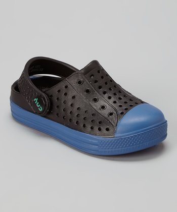 Capelli New York Black & Blue Combo Clog - Kids