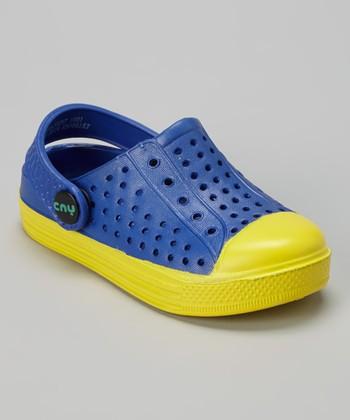 Capelli New York Blue & Yellow Combo Clog - Kids