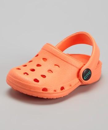 Capelli New York Orange Clog - Kids