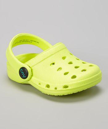 Capelli New York Yellow Clog - Kids