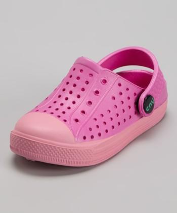 Capelli New York Pink Combo Clog - Kids