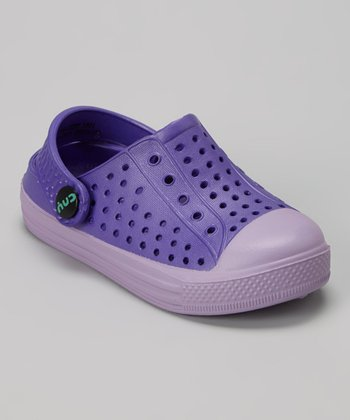 Capelli New York Purple & Indigo Combo Clog - Kids