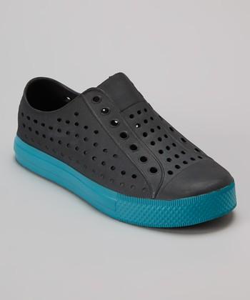 Capelli New York Black & Blue Clog - Kids