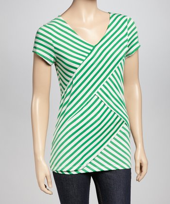 Kelly Layered Stripe Petite Top