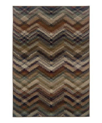 Intersecting Zigzag Zara Rug