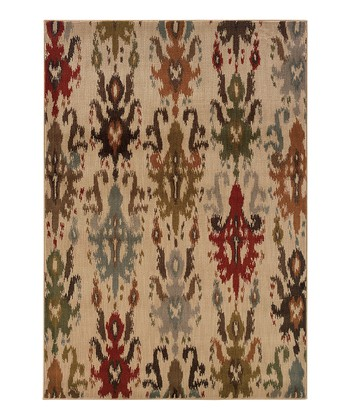 Red & Ivory Intermezzo Rug